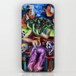 """""""Medusa's Grief"""" Painting iPhone Skin"""