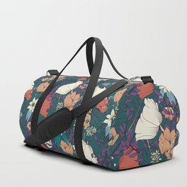 Botanical pattern 008 Duffle Bag