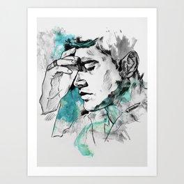 Dean Winchester   Skin Art Print