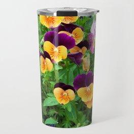 Petunias in a Pot Travel Mug