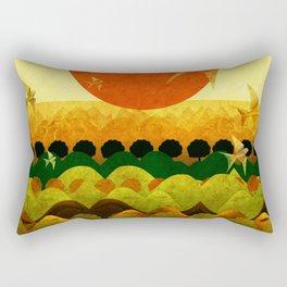 """""""Dawn Cartoon"""" Rectangular Pillow"""
