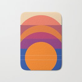 Spring- Pantone Warm color 06 Bath Mat