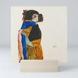 """Egon Schiele """"Moa"""" Mini Art Print"""
