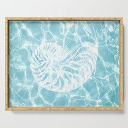 Seashell Serving Tray