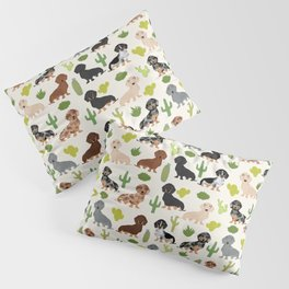 Dachshund cactus southwest dog breed gifts must have doxie dachsies Pillow Sham