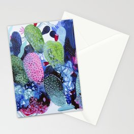Evening Nopales Stationery Cards