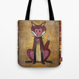 Fox Den Tote Bag