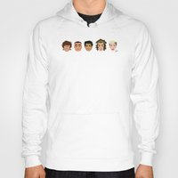 one direction Hoodies featuring One Direction by pygmy