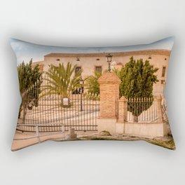 Old large Villa Rectangular Pillow