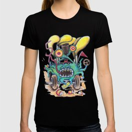 Aussie Road Rage Hoon Monster T-shirt