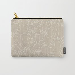 Minimalist Kangaroo Carry-All Pouch