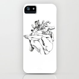 NUDEGRAFIA - 34 Heart iPhone Case