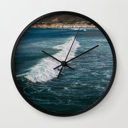 Surf's Up at Pismo Beach Wall Clock