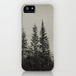 the edge of the forest iPhone Case