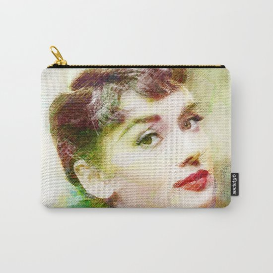 Audrey H.  Carry-All Pouch
