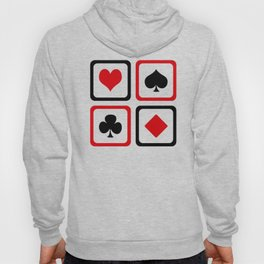 Playing card Hoody