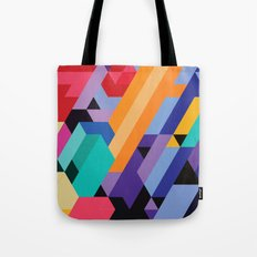 Flat Geometry 01 Tote Bag