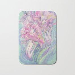 Flower Heads Bath Mat