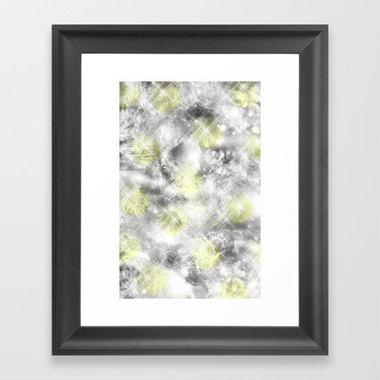 Reflective Framed Art Print