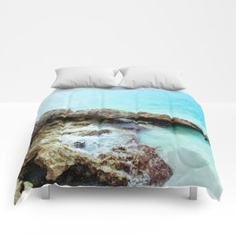 Crashing Waves Comforters