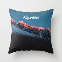 Taza Argentina Mug Throw Pillow