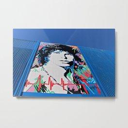Blue Print Metal Print