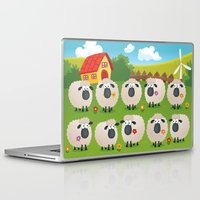 sheep Laptop & iPad Skins featuring Sheep by Elle Moz