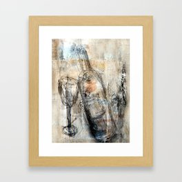 vino Framed Art Print