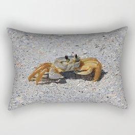 Ghost Crab Rectangular Pillow