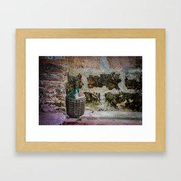 """Wine Mug"" Framed Art Print"