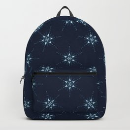 Glowing Stars Texture Seamless Vector Pattern. Drawn Starry Magic Backpack