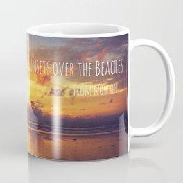 Sunsets Over The Beaches Coffee Mug