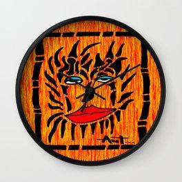 Lion Face Wall Clock