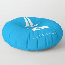 Kraftwerk Autobahn Floor Pillow
