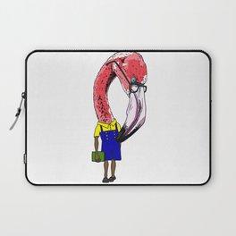 Nerdy Flamingo Laptop Sleeve