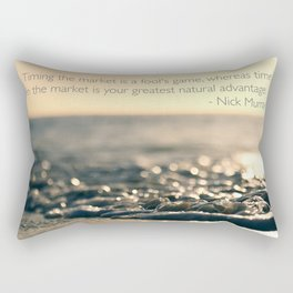 Wallpaper Quote Rectangular Pillow