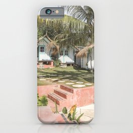 Tropical Bali Leaves Photo | Palm Tree Sun Garden Art Print | Colorful Indonesia Travel Photography  iPhone Case