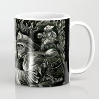 heroes Mugs featuring Heroes by Joshua Anthony
