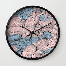 In Mixed Company Wall Clock