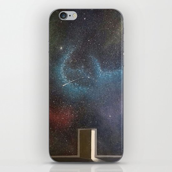 Door to the world iPhone Skin