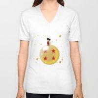 le petit prince V-neck T-shirts featuring Le Petit Saiyen by ddjvigo