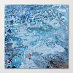 Geometric Swirl Canvas Print