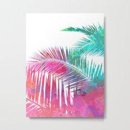 Palms Explosion Metal Print