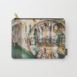 Venice Typograph Carry-All Pouch