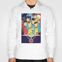 star Hoodies featuring Star Trek by Ale Giorgini