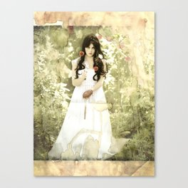 Snow White (modern influence) Canvas Print