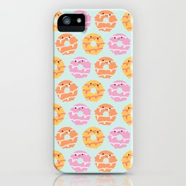 Kawaii Party Rings Biscuits iPhone Case