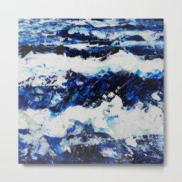 Waves III Metal Print