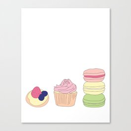 The Art of Baking Canvas Print
