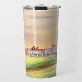 Muirfield Golf Course 18th Green Travel Mug